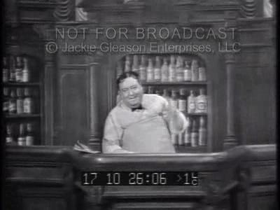 Joe The Bartender Jackie Gleason Video Clips
